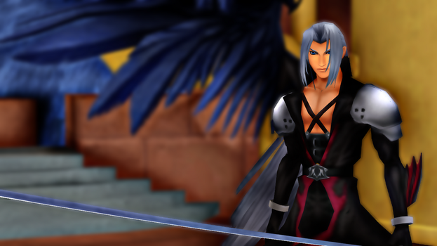 Newcomer Sephiroth DL [MMD/KH2] by EliteAnimations