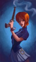 Nami Get Your Gun by bishounenizer