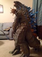 Godzilla full side view by JarrethGolding