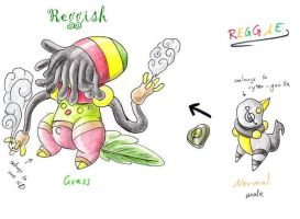 reggish- fakemon contest entry by pitch-black-crow