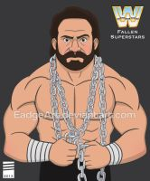 WWE Fallen Superstars: Hercules by EadgeArt