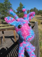 Giraffe of a Different Color by craftyshanna