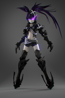 Insane Black Rock Shooter by lishaoran00