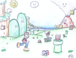 Mario - The Hills have eyes... by ClassicTeam