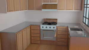 kitchen in blender........ :D by grvrulz