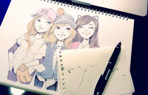 TaeNySic Baseball AU by bbiru
