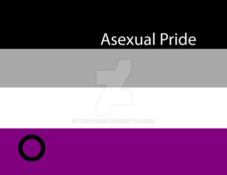 Asexual Pride by MysticEden