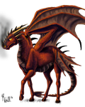 Dragon Horse without background 1 by Meow16305
