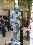 Silver Street Performer by Persnicketier