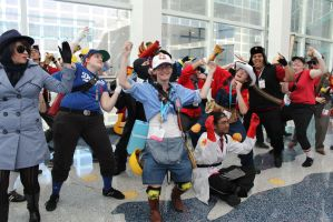 Team Fortress - AX 2012 by AtomicBrownie