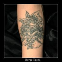 Dragon Tattoo by kaborge