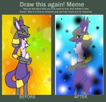 before and after meme by SHINYcincinno
