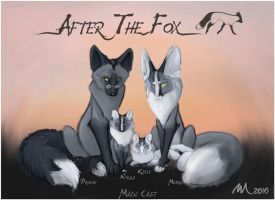 After the Fox - Main Cast by Quoosa