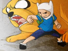 Finn and Jake! by Windam