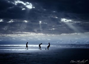 Football on the Beach by `IsacGoulart