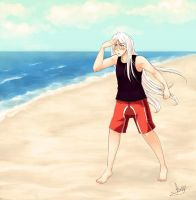 OMG THE BEACH!!! by akaibelier