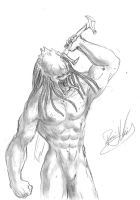 Predator muscle base by daver100