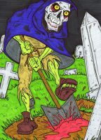 Grave Robber by lagatowolfwood