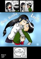 Happy Birthday Lee by NinjaLeeXGaara
