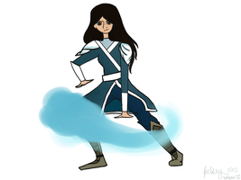 Waterbender \o\ by atomickelsey