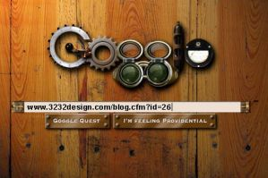 SteamPunk'd Google by 3232design