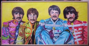 The Beatles by lloxi