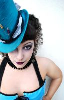 Cabaret Turquoise by RagDolliesMadhouse