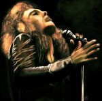 Ronnie james dio  digital painting by psychopathic-jad
