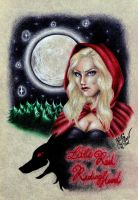 Little Red Riding Hood by SilkSpectreII