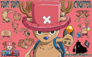 One Piece T.T.Chopper 0033 by kenseigoku