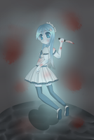 ghost girl by saeriin