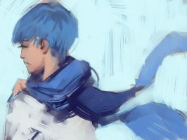 lil kaito doodle by dilleniia