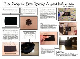How To Make The TCFSR  Armband [Instructions] by SennaSaurus