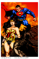 Trio by Ed Benes by UltimeciaFFB
