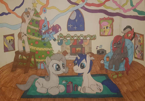 Dubby's Christmas Party by lemonthecombustible