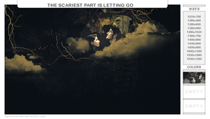 the scariest part is letting go by dannielle-lee