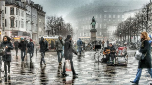 Stroget St. by pacobecerril