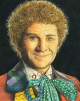 The 6th Doctor by MikesStarArt