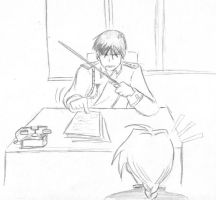 Angry Roy Sketch by Arkham-Insanity