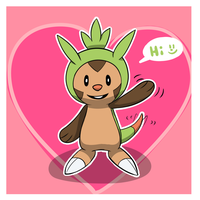 Baby Chespin by reaper600