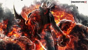 Prototype 2 - Hunter Wallpaper by TheSyanArt