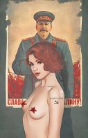 made in USSR - black widow by Gregory-Welter