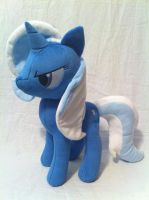 Trixie jointed plush by SpaceVoyager