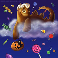 Claudia's Candy Coated Chocolate Chomby Carilee by khiton