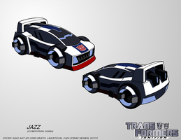 TF:Ignition - Jazz (Cybertron Vehicle Mode) by KrisSmithDW