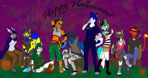 Happy Howloween by lcpatchworkheart