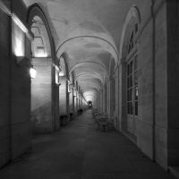 Grand Theatre - Arcades - BW by Pierre-Lagarde