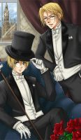 APH: Gentlemen in London by mandachan