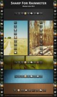 SHARP SUITE for RAINMETER by mACrO-lOvE