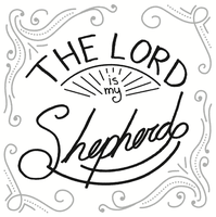 The Lord Is My Shepherd - Free lettering by Emberblue